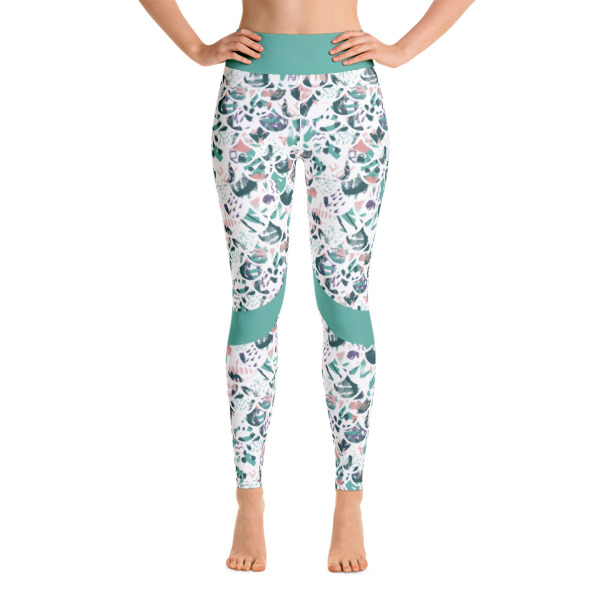 f07b4069398be Patterned Mermaid Abstract Workout Yoga Leggings - Buy Print ...