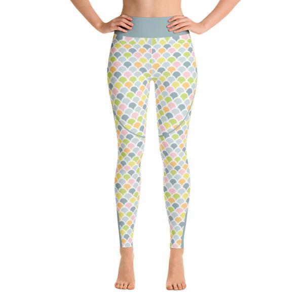 1d32adc68ab6 Patterned Mermaid Multi Colored Athletic Yoga Leggings - Buy Print ...