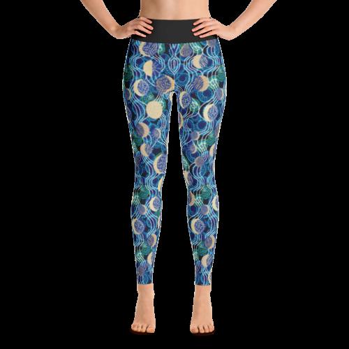 b29b2e9a679ddb Abstract art galaxy Print Yoga Legging - Buy Print Leggings Online ...